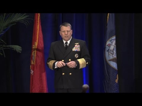 Commander, U.S. Fleet Forces Command Adm. Bill Gortney speak to Surface Navy Association