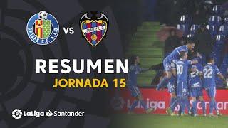 Resumen de Getafe CF vs Levante UD (4-0)