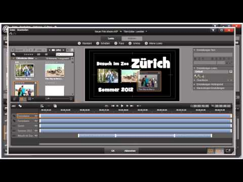 Ausrichten und Gruppieren in Pinnacle Studio 16 und 17 Video 60 von 114