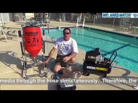 Learn About The Carburetor Hopper Wet Blaster For Pool Tile Cleaning