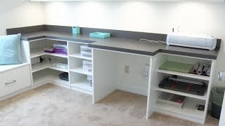 Craft Room and Office All in One