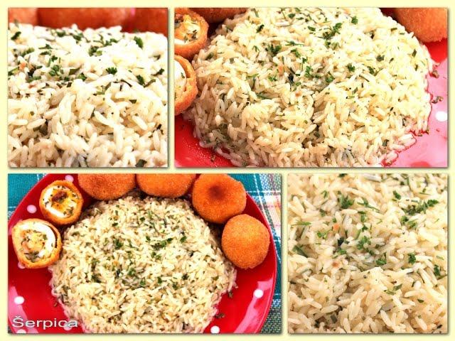 Prilog od riže - Kako pripremiti pirina? - Šerpicina Škola Kuvanja