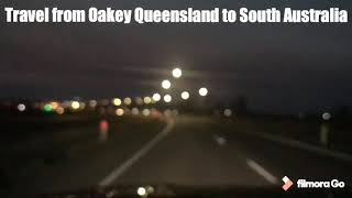 Travel from Queensland to South Australia