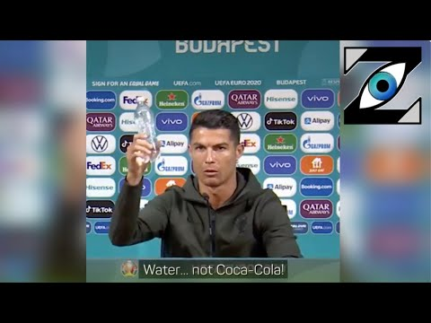 [Zap Net] Le camouflet de Ronaldo envers Coca-Cola ! (15/06/21)