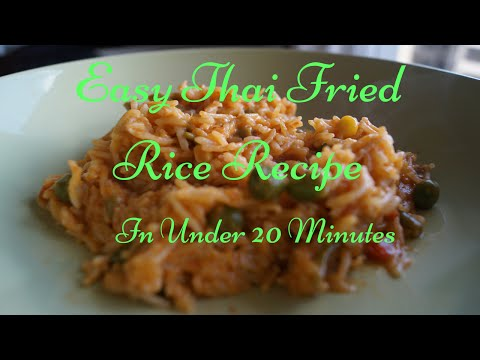 Thai Food Recipes – Easy Thai Fried Rice Recipe