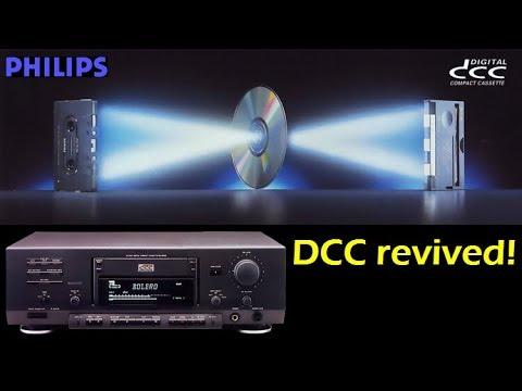 Philips DCC900 Digital Compact Cassette deck revived!