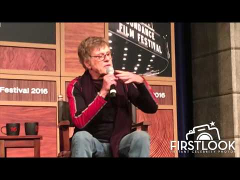Robert Redford gives advice to young filmmakers at Sundance 2016