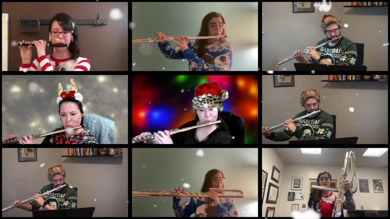 Jingle Bells for Flute Choir - Pierpont, arr. Valerie Coleman