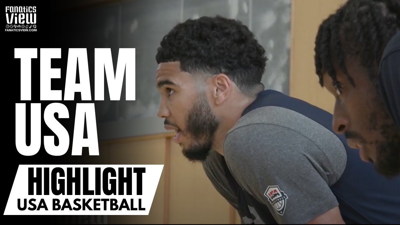 Team USA Gets in First Tokyo Practice: Kevin Durant, Jayson Tatum & First Look at JaVale McGee