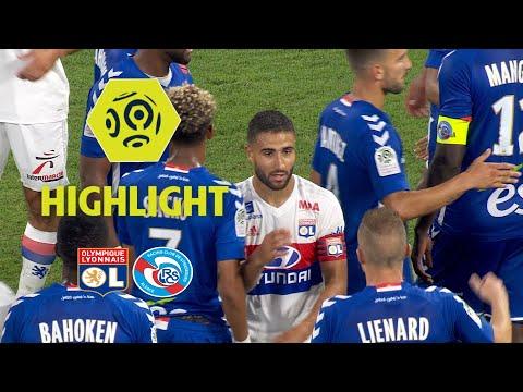 Olympique Lyonnais - RC Strasbourg Alsace (4-0) - Highlights - (OL - RCSA) / 2017-18