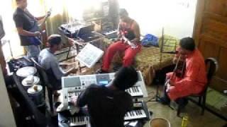 Amay ektu jaiga dao... Reharsal - Saransh,Bangalore Band..