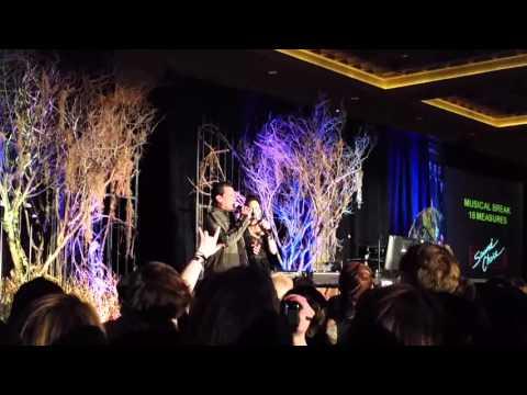 #VegasCon karaoke - Robert Torti and Kim Rhodes