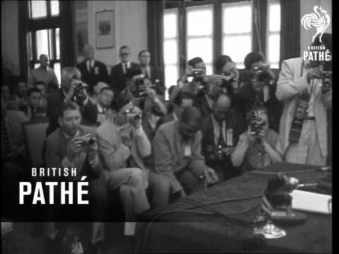 Chiang Kai-Shek Holds A Press Conference (1958)