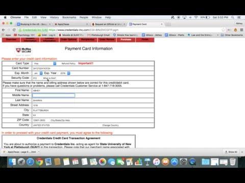 Order/Send School Transcripts (Step by Step Process)