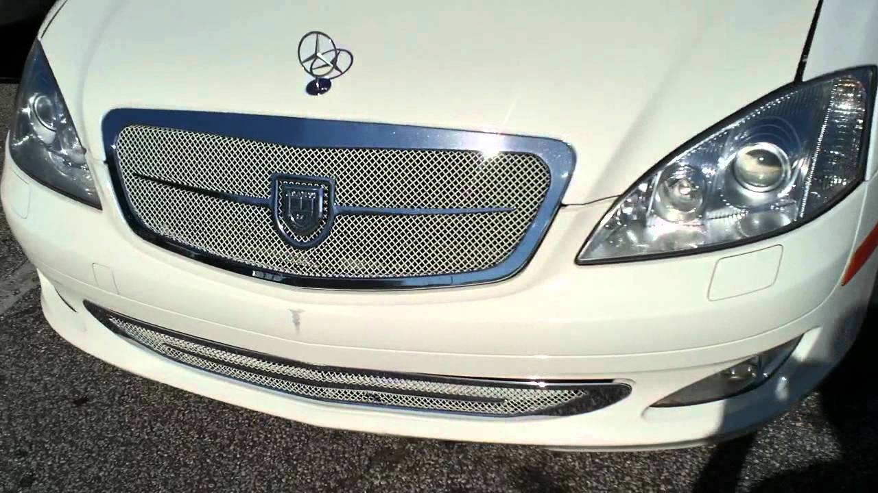 "Mercedes Benz Of Jacksonville >> Mercedes Benz S550 Lorinser Kit on 24"" Forgiatos Asanti Grilles-HD - YouTube"