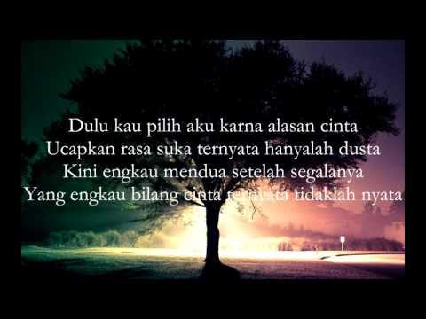 Cinta Mendua - Mauris Feat Kindet With Erik K (Official Lyrics Video)