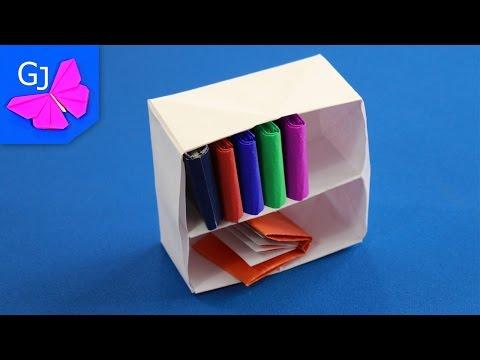 Как сделать полку из бумаги
