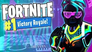Fortnite Funny Moments - Nitelite Rave & Victory Royale!
