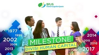 Milestone Divisi Human Capital BPJS Ketenagakerjaan | BPJS Ketenagakerjaan