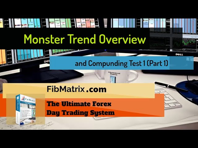 Monster Trend Quick Tutorial Overview and Compounding Test (Part 1) Automated Forex Trading Software