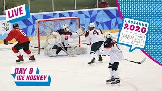 LIVE - Ice Hockey - SWITZERLAND VS CZECH REPUBLIC - Day 8   Lausanne 2020