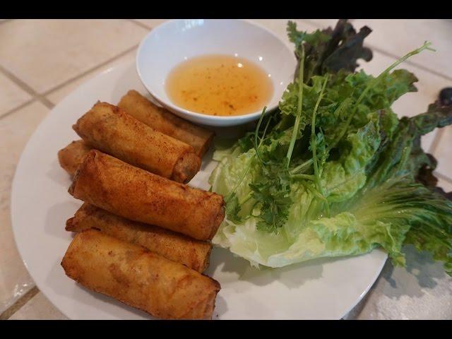 Cha? Gio? (Vietnamese Eggrolls)