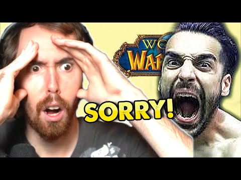 Asmongold Totally NOT Triggered by PILAV's 'Apology' To Asmongold