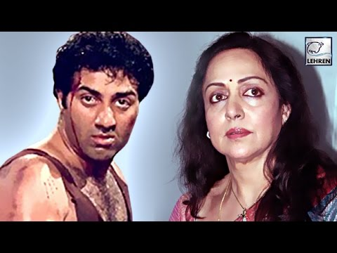 Did Angry Sunny Deol ATTACK Hema Malini With Knife?? REVEALED