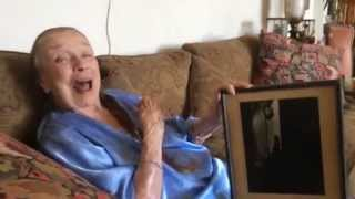 100-Year-Old Patricia Morison Sings to Kelli O