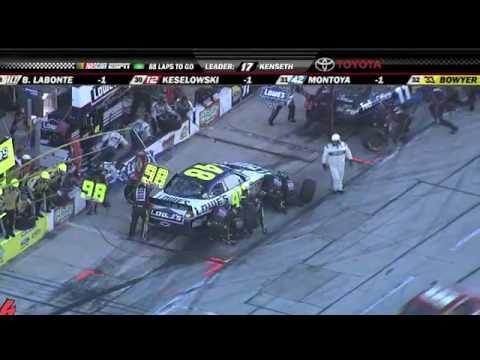 Jimmie Johnson's crew switches to Jeff Gordon's crew - 2010 AAA Texas 400