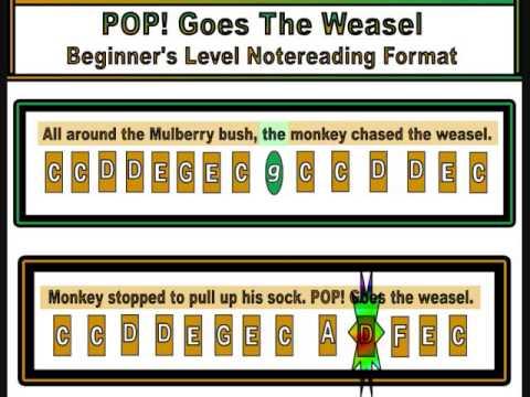 Pop goes the weasel laughing jack lyrics