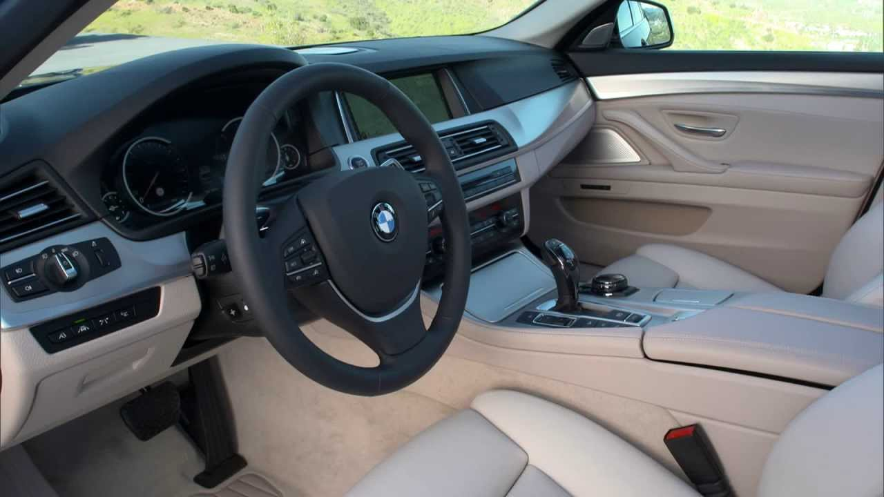 Bmw 530d Touring F11 Lci Interieur Design Youtube