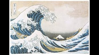 3Hours: Relaxing music by  Traditional  Japanese musical instruments. ukiyoe. hokusai.