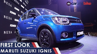 Maruti Suzuki Ignis Launched in India; Price & Specs - NDTV CarAndBike