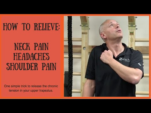 how to relieve neck pain headaches and shoulder pain