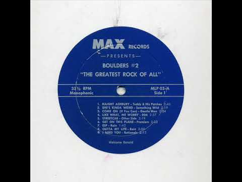 V/A Boulders #2 ''THE GREATEST ROCK OF ALL'' (GARAGE 60'S)