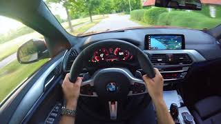 2019 BMW X4 xDrive 20d M Sport - POV Review