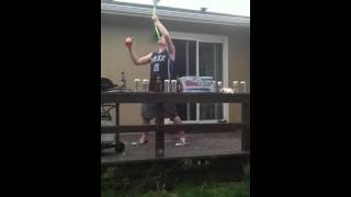 Beer bong nerf awesome amazing one hand catch epic vortex