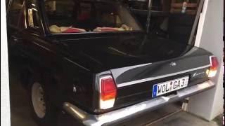 GAZ-24 V8 Start