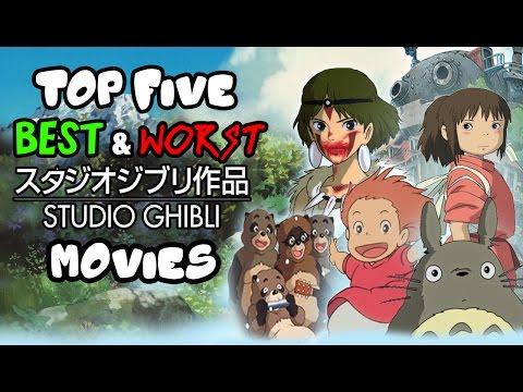 Jambareeqi's Top 5 Best & Worst Studio Ghibli Movies