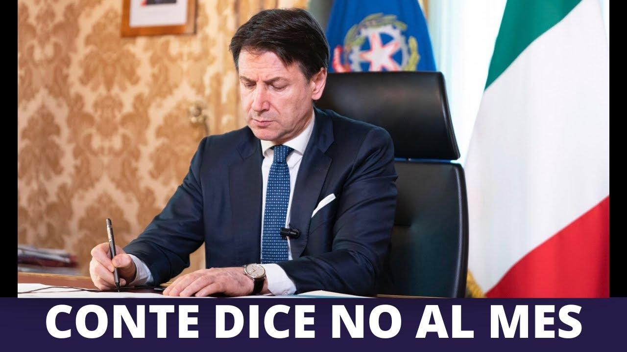 Conte dice No al Mes (06/04/2020) - YouTube