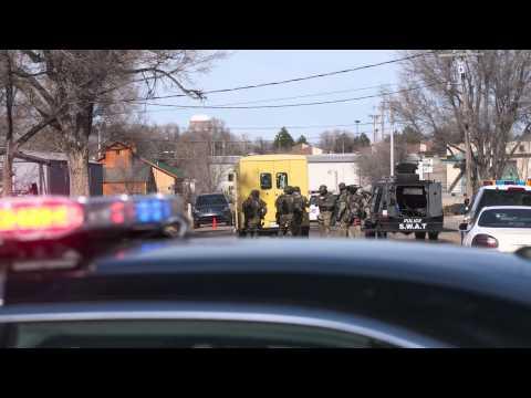 SWAT Standoff in Garden City