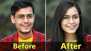 How to change gender in photo - How to use Face app - Face App kaise Use kare - Faceapp pro use free screenshot 4