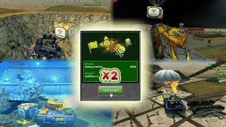 Tanki Online Dropping Gold Boxes By Missions! + Friend Give Me Golds