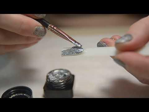 Глиттер жидкий для ногтей