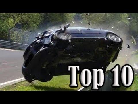 Top 10 of Hardest Crashes on Nürburgring Nordschleife