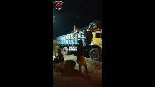 Bosila Haat Goru Unloading | Gorur Video 2019 | Haat Haat Bangladesh HHBD