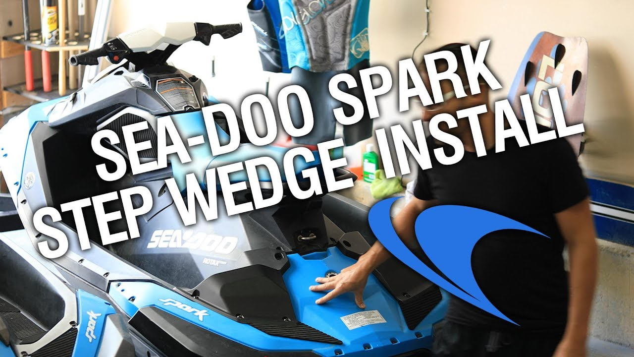 Sea-Doo Spark Step Wedge kit install