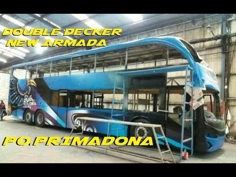 WAWW !! DOUBLE DECKER NEW ARMADA PO.PRIMADONA MAKASAR
