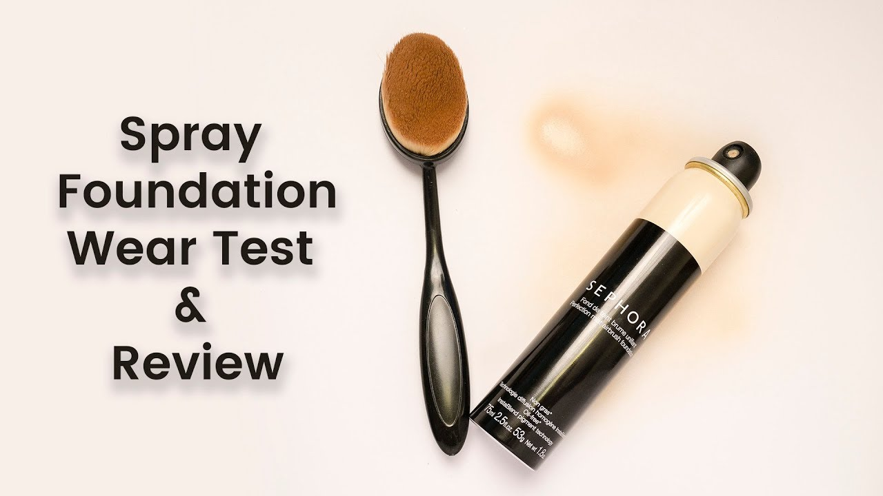 Sephora Perfection Mist Airbrush Foundation 12hr Wear Test & Review | CORRIE SIDE